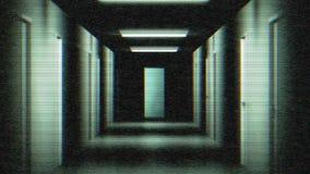 Διάδρομος του φόβου απόθεμα βίντεο
