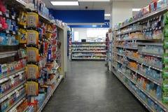 Διάδρομος φαρμακείων στοκ εικόνες με δικαίωμα ελεύθερης χρήσης
