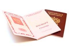 διαβατήρια δύο Στοκ φωτογραφία με δικαίωμα ελεύθερης χρήσης