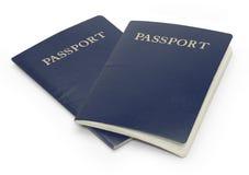 διαβατήρια Στοκ εικόνες με δικαίωμα ελεύθερης χρήσης
