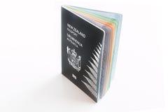 Διαβατήριο της Νέας Ζηλανδίας στο άσπρο υπόβαθρο Στοκ φωτογραφία με δικαίωμα ελεύθερης χρήσης