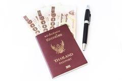 Διαβατήριο της Ταϊλάνδης Στοκ Εικόνα