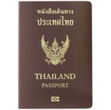 Διαβατήριο της Ταϊλάνδης Στοκ Φωτογραφίες