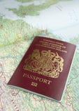 διαβατήριο χαρτών στοκ φωτογραφίες με δικαίωμα ελεύθερης χρήσης