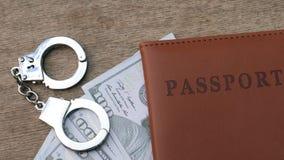 Διαβατήριο, χρήματα και χειροπέδες φιλμ μικρού μήκους