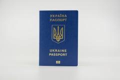 Διαβατήριο UA στοκ φωτογραφία με δικαίωμα ελεύθερης χρήσης