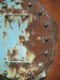 Διαβρωμένη πόρτα Στοκ εικόνα με δικαίωμα ελεύθερης χρήσης