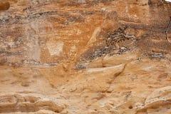 Διαβρωμένος σχηματισμός βράχου στο Καστλ Ροκ Badlands στοκ φωτογραφία με δικαίωμα ελεύθερης χρήσης