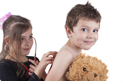 Διαγωνισμός γιατρών Στοκ εικόνες με δικαίωμα ελεύθερης χρήσης