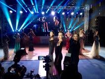 Διαγωνισμός ομορφιάς η Δεσποινίς Yalta 2016 Στοκ εικόνα με δικαίωμα ελεύθερης χρήσης