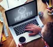 Διαγώνια έννοια συμβόλων νοσοκομείων υγείας στοκ φωτογραφίες με δικαίωμα ελεύθερης χρήσης