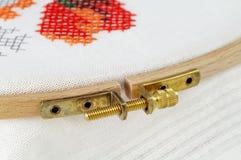 διαγώνια βελονιά tambour Στοκ εικόνα με δικαίωμα ελεύθερης χρήσης