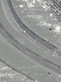 διαγώνια διαδρομή χωρών Στοκ Φωτογραφίες