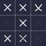 Διαγώνια εικονίδια Στοκ φωτογραφία με δικαίωμα ελεύθερης χρήσης