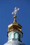 διαγώνια εκκλησία ortodox Στοκ εικόνες με δικαίωμα ελεύθερης χρήσης