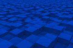 Διαγώνια επιφάνεια φιαγμένη από κύβους Στοκ εικόνα με δικαίωμα ελεύθερης χρήσης