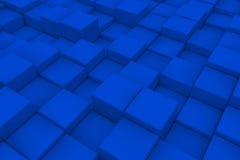 Διαγώνια επιφάνεια φιαγμένη από κύβους Στοκ Φωτογραφία