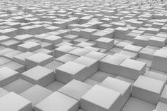 Διαγώνια επιφάνεια φιαγμένη από κύβους Στοκ Φωτογραφίες