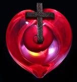 Διαγώνια καρδιά Στοκ εικόνες με δικαίωμα ελεύθερης χρήσης