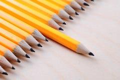 διαγώνια μολύβια ομάδας Στοκ φωτογραφία με δικαίωμα ελεύθερης χρήσης