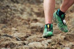 Διαγώνια τρέχοντας πόδια χωρών Στοκ Εικόνα