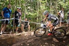 Διαγώνια χώρα 2013, Mont ste-Anne, Β Παγκόσμιου Κυπέλλου UCI στοκ φωτογραφία με δικαίωμα ελεύθερης χρήσης