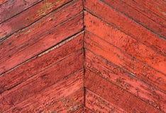 Διαγώνιοι ξύλινοι παλαιοί πίνακες υποβάθρου Αναδρομική σύσταση για το σχέδιο Στοκ Εικόνες