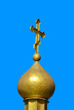 διαγώνιος θόλος χρυσός Στοκ Φωτογραφίες