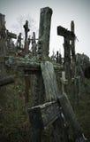 διαγώνιος λόφος Λιθουανία Στοκ Φωτογραφίες