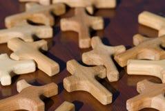 διαγώνιος ξύλινος Στοκ Φωτογραφία