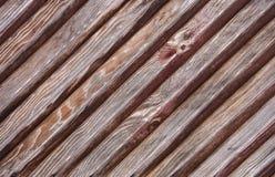 Διαγώνιος ξύλινος πίνακας για το υπόβαθρο Στοκ Φωτογραφίες
