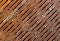 Διαγώνιος ξύλινος πίνακας Στοκ φωτογραφίες με δικαίωμα ελεύθερης χρήσης