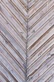 Διαγώνιος ξύλινος φράκτης των σανίδων Στοκ Εικόνες