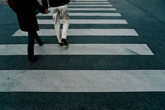 διαγώνιος περίπατος Στοκ φωτογραφίες με δικαίωμα ελεύθερης χρήσης