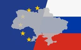 Διαγώνιος της Ουκρανίας απεικόνιση αποθεμάτων