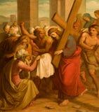 διαγώνιος τρόπος του Ιησού Βερόνικα Βιέννη Στοκ φωτογραφία με δικαίωμα ελεύθερης χρήσης