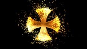 διαγώνιος χρυσός Μαλτέζ&omicro ελεύθερη απεικόνιση δικαιώματος