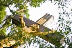 διαγώνιος χρυσός Χριστού Στοκ εικόνα με δικαίωμα ελεύθερης χρήσης