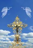 διαγώνιος χρυσός Στοκ εικόνα με δικαίωμα ελεύθερης χρήσης