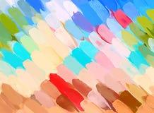 Διαγώνιο ζωηρόχρωμο υπόβαθρο κτυπημάτων βουρτσών Αμερικανός διακοσμεί διανυσματική έκδοση συμβόλων σχεδίου την πατριωτική καθορισ Στοκ Εικόνες