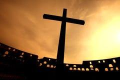 διαγώνιο ηλιοβασίλεμα &sig Στοκ εικόνες με δικαίωμα ελεύθερης χρήσης