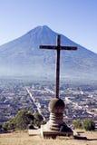 διαγώνιο ηφαίστειο στοκ φωτογραφία