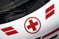 διαγώνιο ιατρικό κόκκινο Στοκ εικόνες με δικαίωμα ελεύθερης χρήσης