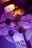 διαγώνιο κοράκι scary Στοκ Φωτογραφία