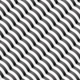 Διαγώνιο κυματιστό γδυμένο άνευ ραφής σχέδιο Στοκ Εικόνες