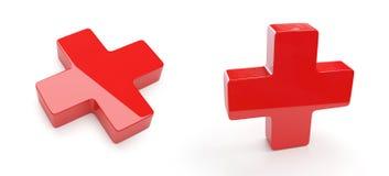 διαγώνιο κόκκινο Στοκ εικόνα με δικαίωμα ελεύθερης χρήσης