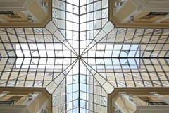 Διαγώνιο παράθυρο φεγγιτών Στοκ Φωτογραφία