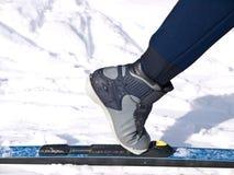 διαγώνιο σκανδιναβικό να κάνει σκι χωρών Στοκ φωτογραφίες με δικαίωμα ελεύθερης χρήσης