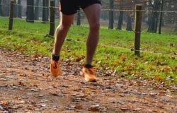 Διαγώνιο τρέξιμο χωρών που θολώνεται στο ίχνος Στοκ φωτογραφίες με δικαίωμα ελεύθερης χρήσης