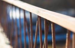 Διαγώνιο υπόβαθρο ραμπών γεφυρών bokeh στοκ φωτογραφίες με δικαίωμα ελεύθερης χρήσης